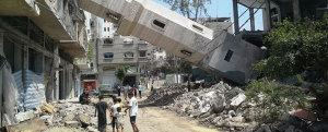 A Luz Bilha, Reconstruindo Gaza