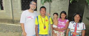 Colômbia: Deus de encontro com os índios