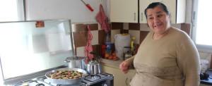 Jordânia: esperança no alimento para família iraquiana