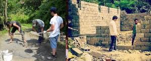Nepal: o primeiro tijolo foi colocado