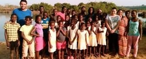 Guiné-Bissau: acampamento de férias em família