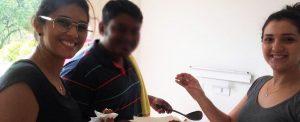 Colombo: refugiado abre sua casa para a MAIS