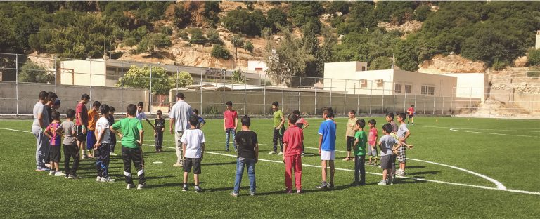 O Reino de Deus em uma partida de futebol